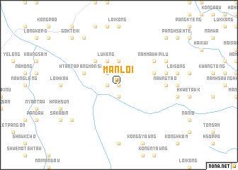 map of Mān Loi