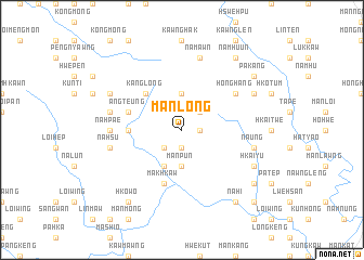 map of Mān Long