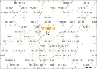 map of Mān Mai