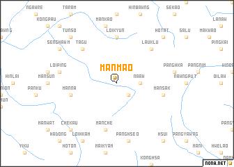 map of Mān Mao