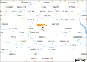map of Mān Mao