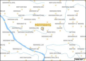 map of Mān Na-ang