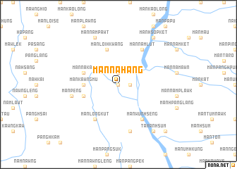 map of Mān Na-hang