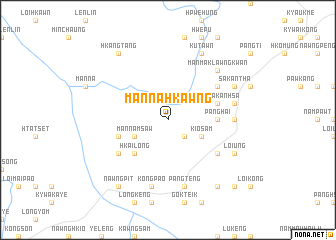 map of Mān Na-hkawng