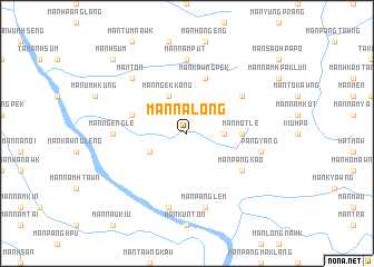 map of Mān Na-long