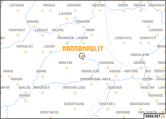 map of Mān Nampu-lit