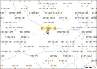 map of Mān Na-wi