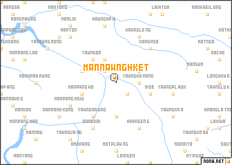 map of Mān Nawnghket