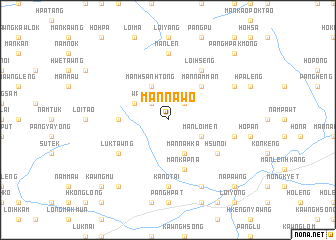map of Mān Na-wo
