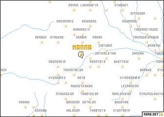 map of Manna