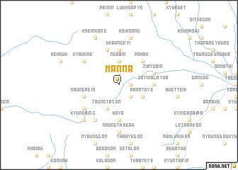 map of Manna
