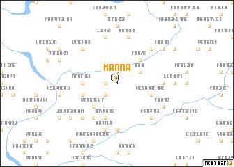 map of Mān Na
