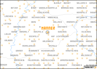 map of Manner
