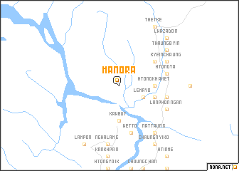 map of Manora