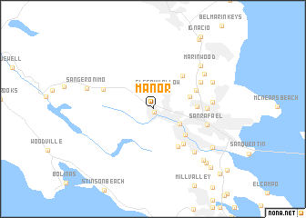 map of Manor