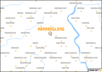 map of Mān Pāngleng