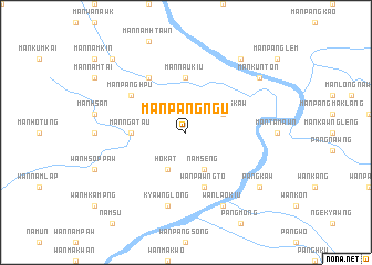 map of Mān Pangngū