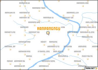 map of Mān Pangngū