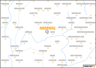map of Mān Pang