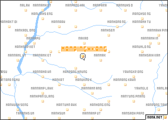 map of Mān Pinghkang