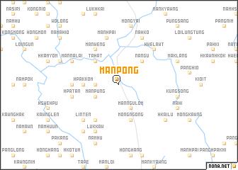 map of Mān Pong