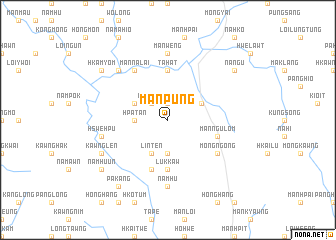 map of Mānpung