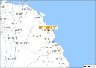 map of Mansabay