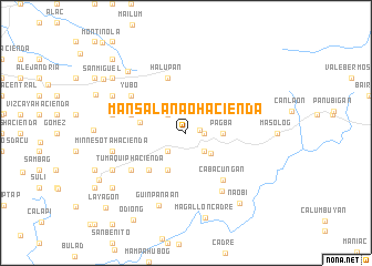 map of Mansalanao Hacienda