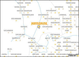 map of Mansomine