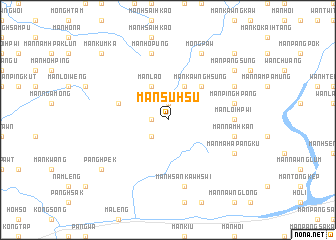 map of Mān Su-hsu