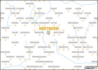 map of Mān Tāknai