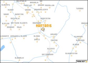 map of Mantarīs
