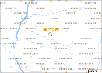 map of Mān Ta-rō