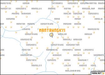 map of Māntawngkyi