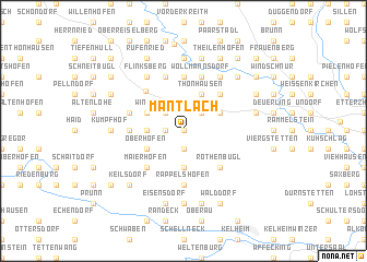 map of Mantlach