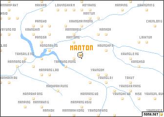 map of Mānton
