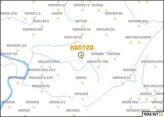 map of Mān Tra