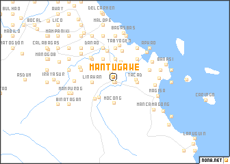 map of Mantugawe