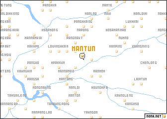 map of Mān Tun