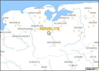map of Manuelita
