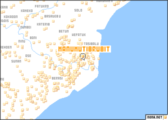 map of Manumutibrubit