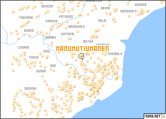 map of Manumutiumanen