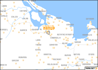 map of Man-up