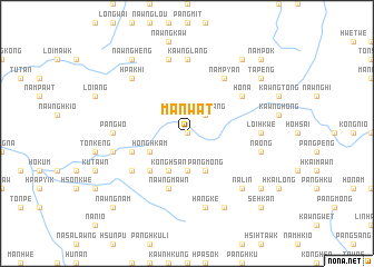 map of Man-wat