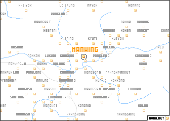 map of Mān-wing