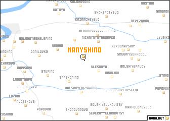 map of Manyshino