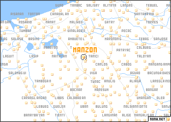 map of Manzon