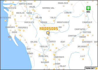 map of Maoasoas