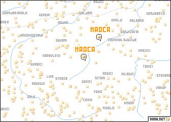 map of Maoča