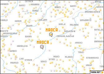 map of Maoča